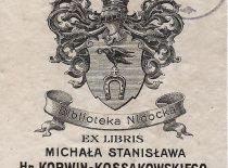 Mykolas Stanislovas Kosakovskis (Michał Stanisław Korwin-Kossakowski. XX a. pr. Dail. Leopoldas Gvidonas Vatsonas (Leopold Watson) KLKŽ, p. 59